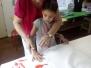 ARTS PLASTIQUES CP MAKIS ET DAUPHINS MAI 2017